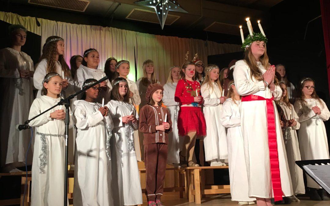 Christmas choir concert